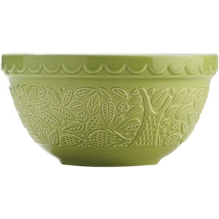 Day and Age In The Forest Mixing Bowl Green Hedgehog 21cm