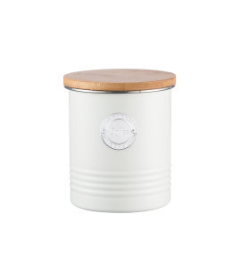 Day and Age Coffee Storage Jar Cream