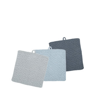 Day and Age Wash Cloth Set 3 25 x 25cm