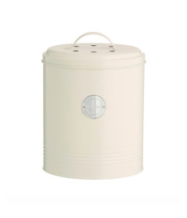 Day and Age Compost Storage Jar Cream