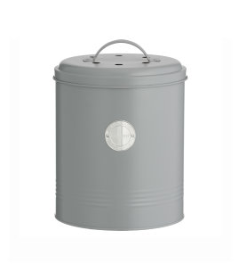 Day and Age Compost Storage Jar Grey