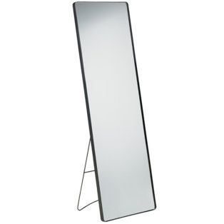 Day and Age Full Length Mirror Black Trim 140 x 45cm