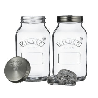 Day and Age Fermentation Jars set of 2 1 Litre
