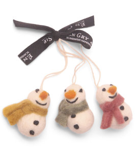 Day and Age Snowmen 6cm (set3)