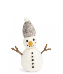 Day and Age Snowman Grey 10.5cm