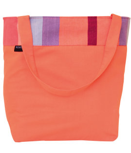 Day and Age Coral Beach Bag