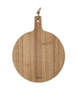 Day and Age Oak Wood Board Round w/handle 34cm