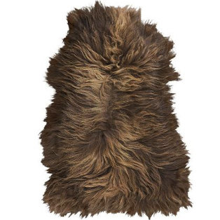 Day and Age Faroe Island Sheepskin Brown