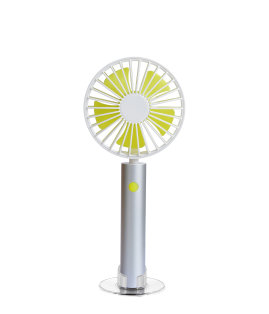 Day and Age Handy Mini Fan Silver