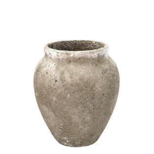 Day and Age Cement Urn Grey