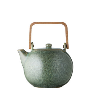 Day and Age Stoneware Teapot Green