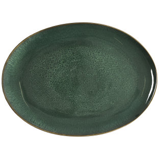 Day and Age Bitz Platter Green 45cm